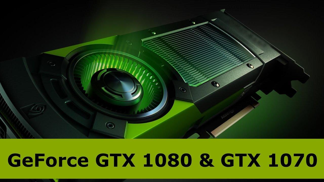 NVIDIA GeForce GTX 1060 Vs 1070 1080 TITAN X