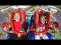 KIDS - Boy and Girl | Funny Slingshot Ride Compilation