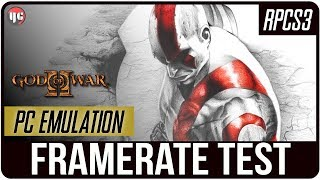 [RPCS3] God Of War 2 On PC [4k] (Framerate test/gameplay)