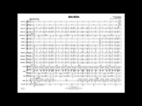 Bim-Bom by João Gilberto/arr. Roger Holmes