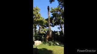Парк динозавров в отеле Vogue Hotel Bodrum 5 Турция Бодрум