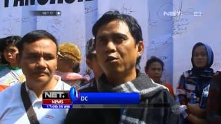 NET17 - Ratusan warga di Bandung mendukung Jokowi dan yusril ihza mahendra