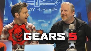 Making Gears of War 5 with Rod Fergusson - Electric Playground Interview