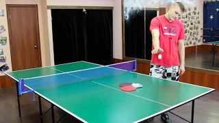 Теннисный стол для помещений №1. Недорогой теннисный стол.(, 2016-01-29T20:20:58.000Z)