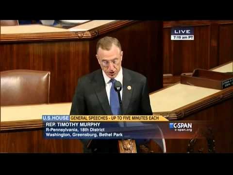 Rep. Tim Murphy On The Rights of the Mentally Ill