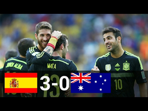 Spain vs Australia 3-0 • 2014 FIFA World Cup Highlights