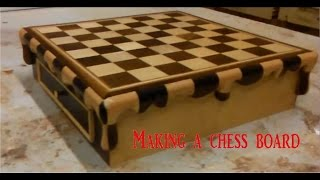 making a chess board inspired by Salvador dali