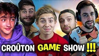 C'EST PARTIT POUR LE PREMIER CROUTON GAME SHOW !!! Ft Michou/Valouzz/Lebouseuh/Inoxtag