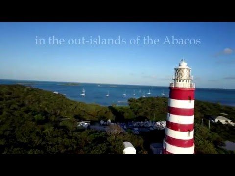 Bahamas Drone Video- Hope Town (Elbow Cay), Abaco | Hope Town Inn & Marina