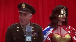 Masked Wonder Woman unmasked and chloroformed [Wonder Woman TV-series]