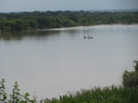 Illegal mining activities dry up River Tano