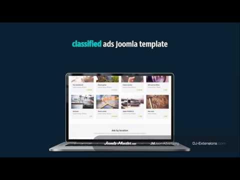 Joomla classifieds ads template - JM JoomAdvertising