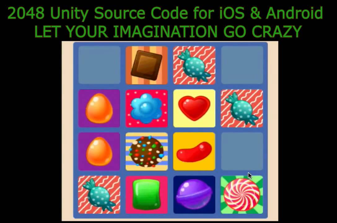 2048 iOS & Android (Unity) + Online Course For iOS - Source Code For Sale