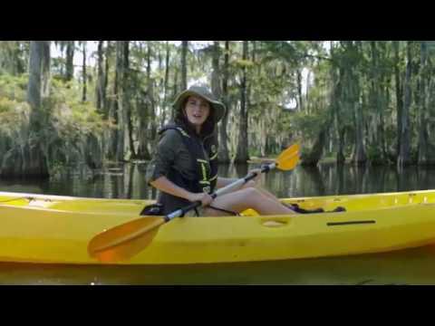 Come to Louisiana - Paddling Fall 2016