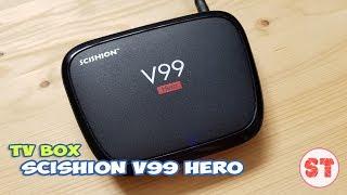 SCISHION V99 Hero - простой TV BOX с 4 гигабайтами оперативки. Полный обзор