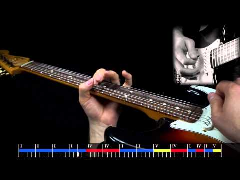 SRV Tin Pan Alley Style Soloing - Advanced Lesson Sample