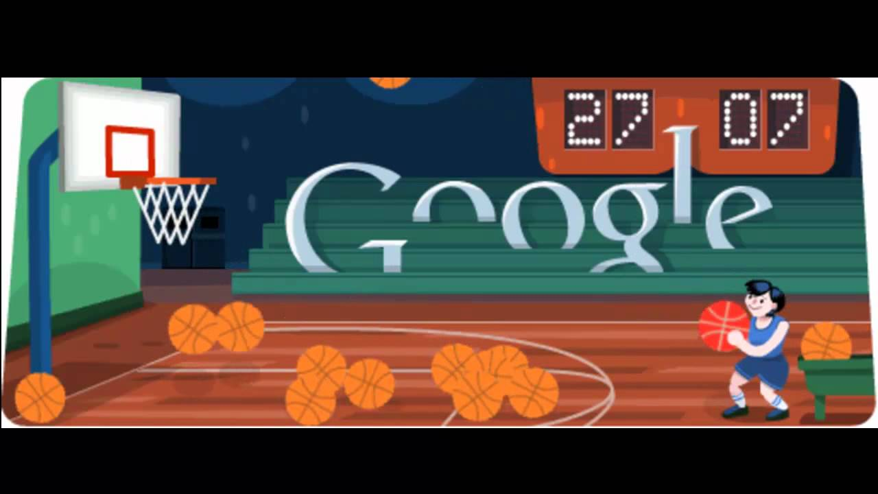 4 Google Basketball Doodle