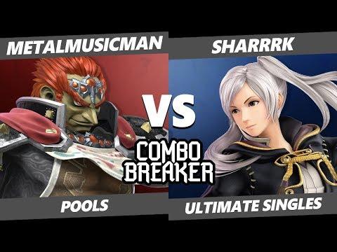 CB 2019 SSBU - UFD | MetalMusicMan (Ganondorf) Vs. sharrrk (Robin) Smash Ultimate Tournament Pools
