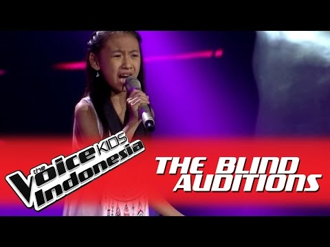Joceline Bersamamu I The Blind Auditions I The Voice Kids Indonesia 2016