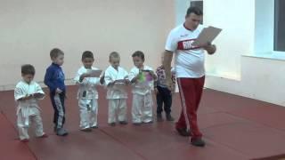 1.11.15 Открытый урок по дзюдо. Награждение. Малыши 3 - 4 года. Centre Judo Kids. Feodosiya