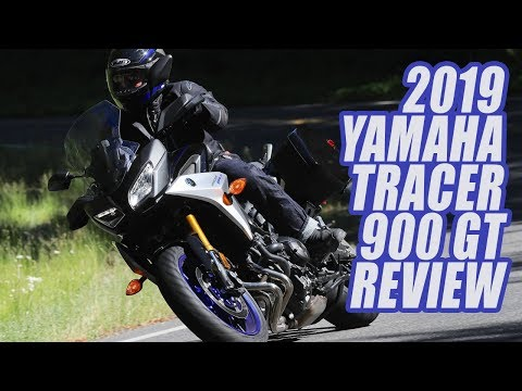 2019 Yamaha Tracer 900 GT First Ride