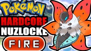 Pokémon White 2 Hardcore Nuzlocke - Fire Type Pokémon Only! (No items, No overleveling)