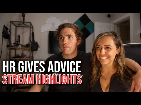 HR Gives Advice to help you get a job - Stream Highlights | #grindreel