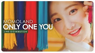 Momoland • Only One You | Line Distribution — Request #57.4 mp3