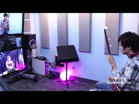 Erhu masterclass with Professor Yu Hongmei