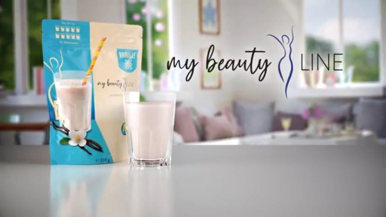 my beauty Line | Mahlzeitenersatz für eine gewichtskontrollierende Ernährung | MediaShop.TV
