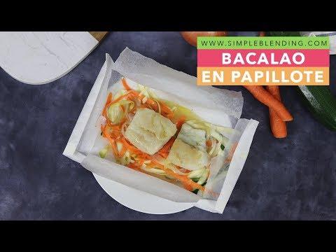 Bacalao En Papillote | Bacalao Al Horno Con Verduras | Papillote De Verduras Con Bacalao: