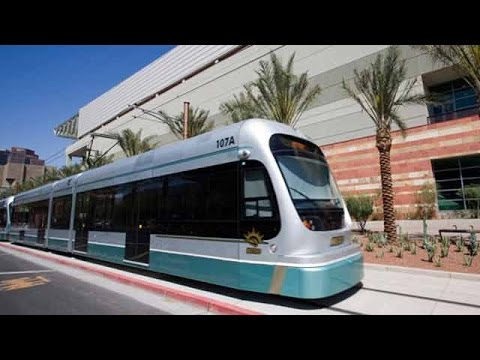 Phoenix Light Rail Tour with U.S. Transportation Secretary Mendez and Phoenix Elected Officials