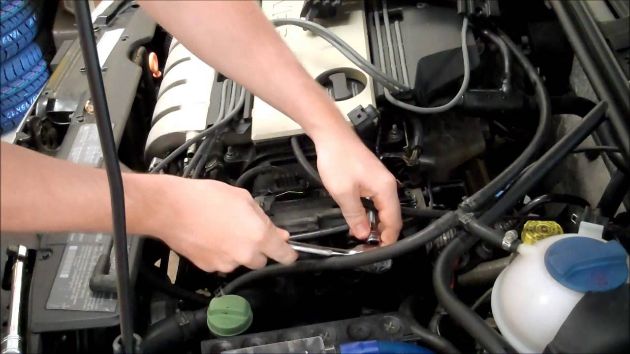 medium resolution of vr6 camshaft position sensor g40 replace in under 6 minutes how to diy golf jetta 2 8l audi youtube