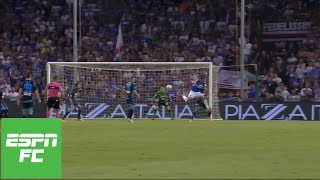 Fabio quagliarella redirects a cross into the back of net with an unbelievable backheel, leaving many fans stunned at what they saw and opposing napoli g...