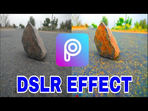 DSLR effect Photo editing in PicsArt on Android. || Umesh Krishnia ||