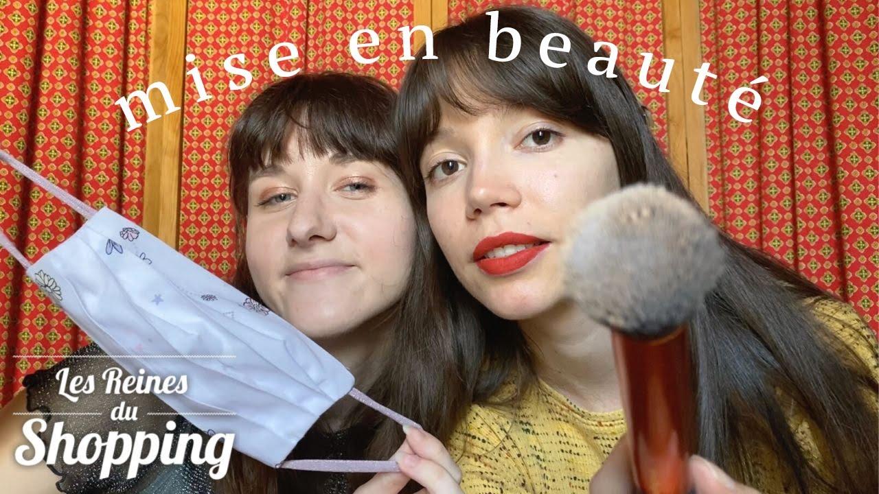 ASMR | Mise en beauté avec Amélisa - Stylée avec un masque - LRDS