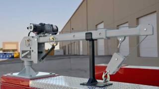 New Western Mule M2000 Telescoping Boom Crane