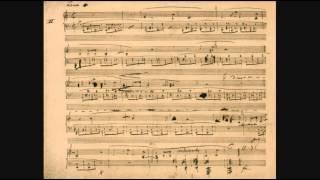 24の前奏曲 Op 28 ショパン プレリュード 自筆譜