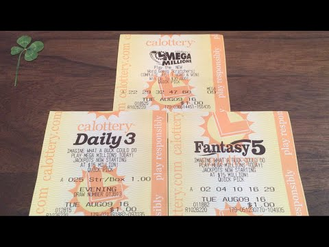 PLAYING THE LOTTO!! Daily 3, Fantasy 5, Mega Millions