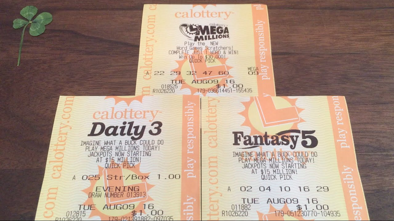 PLAYING THE LOTTO!! Daily 3, Fantasy 5, Mega Millions