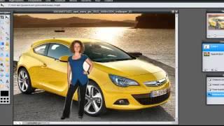 Смотреть видео наложить одно фото на другое онлайн