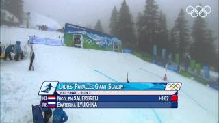 KB ST A 2 Women s Snowboard Parallel Giant Slalom Gold Final Vancouver 2010 Winter Olympic Games