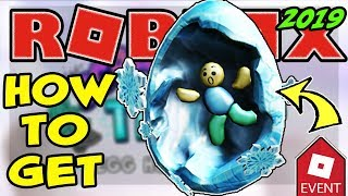 [EVENT] HOW TO GET THE EGGS ON ICE EGG   ROBLOX EGG HUNT 2019 Scrambled In Time - Freeze Tag