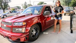 FASTEST WOMAN IN OKLAHOMA! STREET OUTLAWS! TINA PIERCE DEBUTS HER  LSX COLORADO! HOT ROD DRAG WEEK!