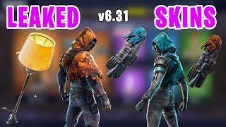 *NEW LEAKED SKINS* Insight, LongShot (Sniper), Lamp (Moth) Pickaxe - Fortnite v6.31 Update