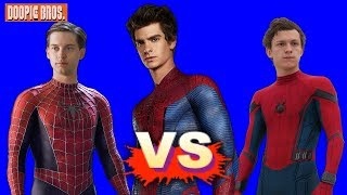 Maguire Vs Garfield Vs Holland - Who's the Best Spider-Man?
