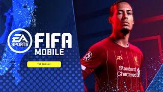 FIFA MOBILE 20 - GAMEPLAY , LOADING SCREEN, STARTING SCREEN - FIFA MOBILE 20 BETA