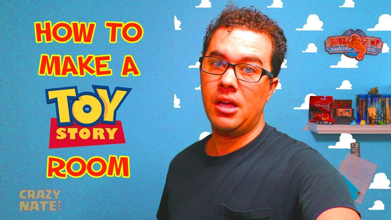 How To Make A Toy Story Room Youtube