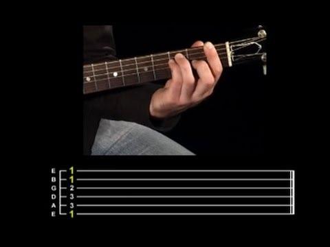 Gitarre Lernen - Tabulatur