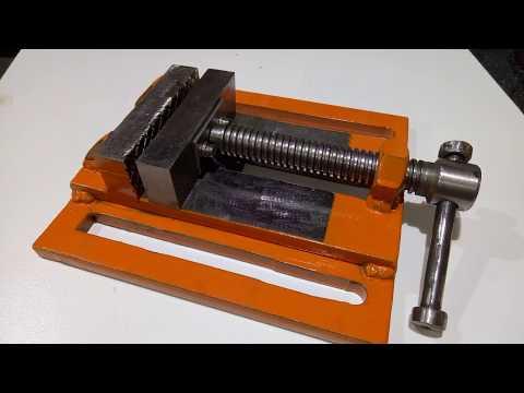 Homemade drill vise / Imadło do wiertarki samoróbka